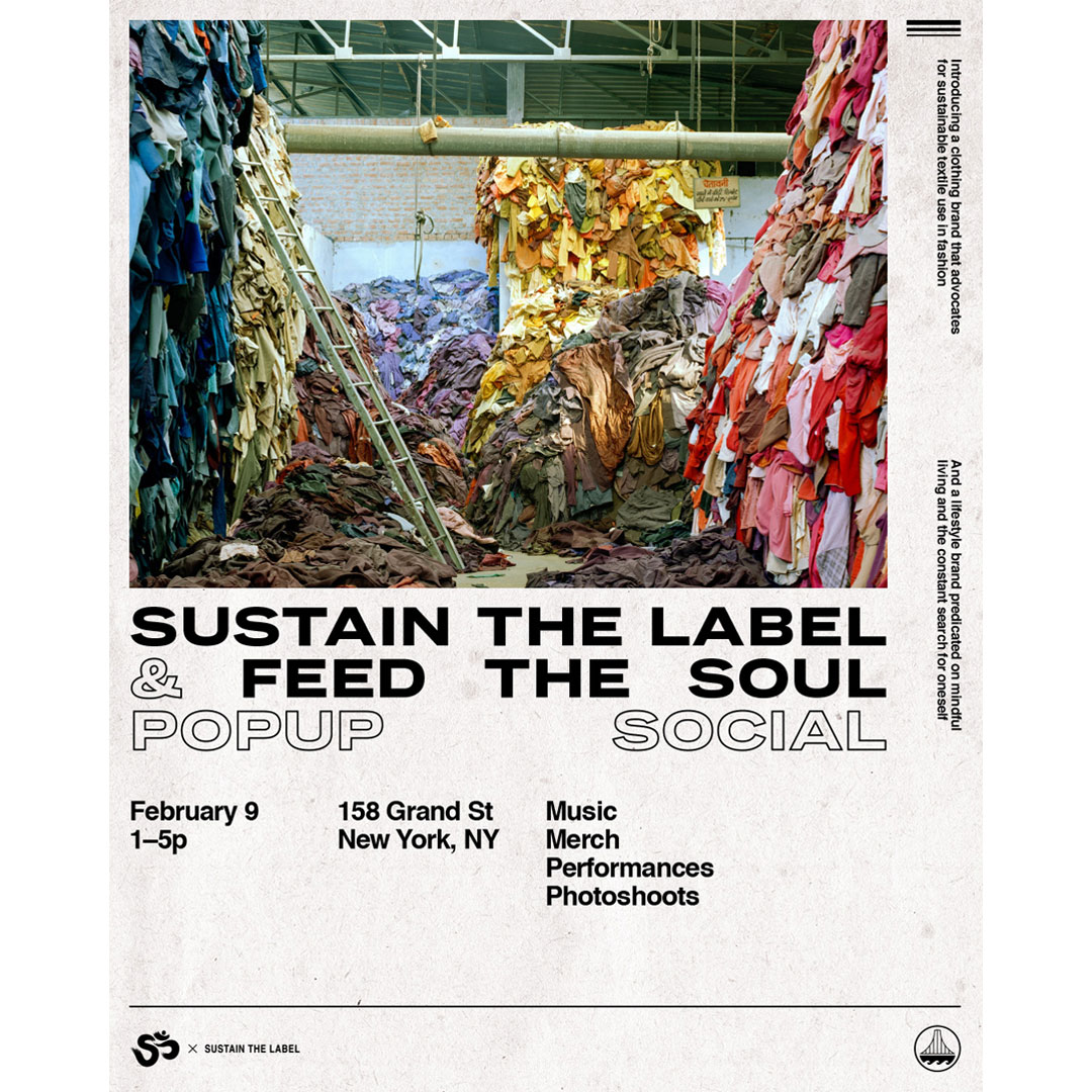 Sustain the Label x Feed the Soul Poster